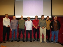 Dusty Dvorak, Neal Amsden, David Strausberg, Brent Peterson, Bob Yoder, Celso Kalache, Jim Strickland, and Alan Rosehill